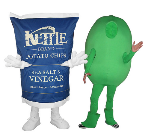 Other sponsorship mascot examples