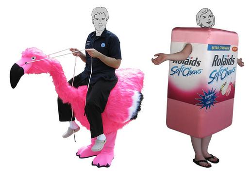 Sponsorship Mascot examples