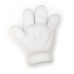 Cartoon Glove – White