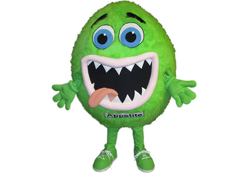 Natural Factors Appetite Low Custom Mascot Costumes
