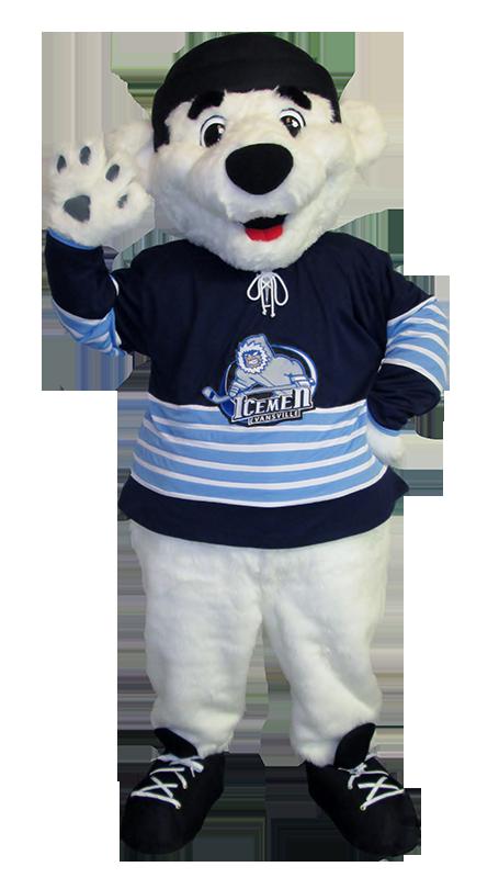 custom hockey mascots