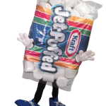 JP, a Custom Marshmallow Mascot